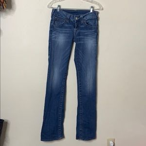 True Religion Boot Cut Low Rise